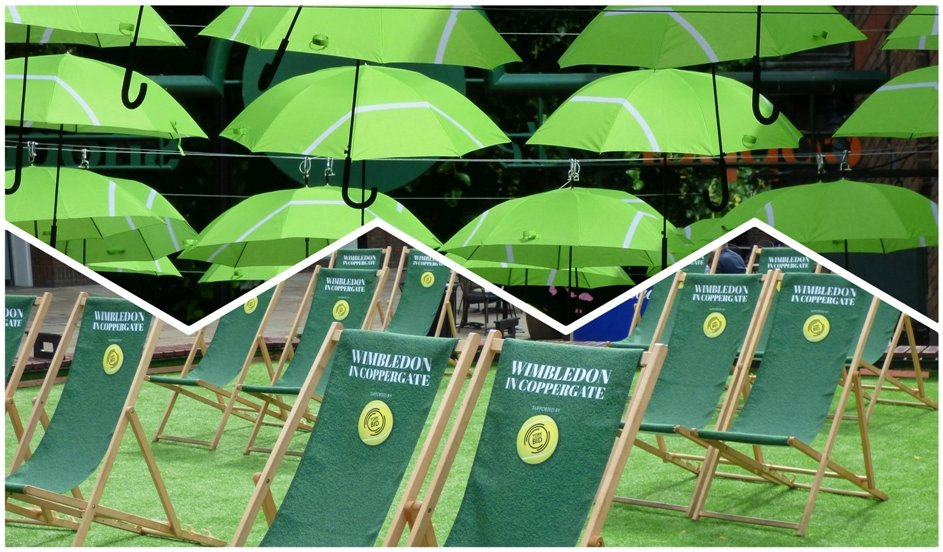 Wimbledon comes to Coppergate, York by fishers