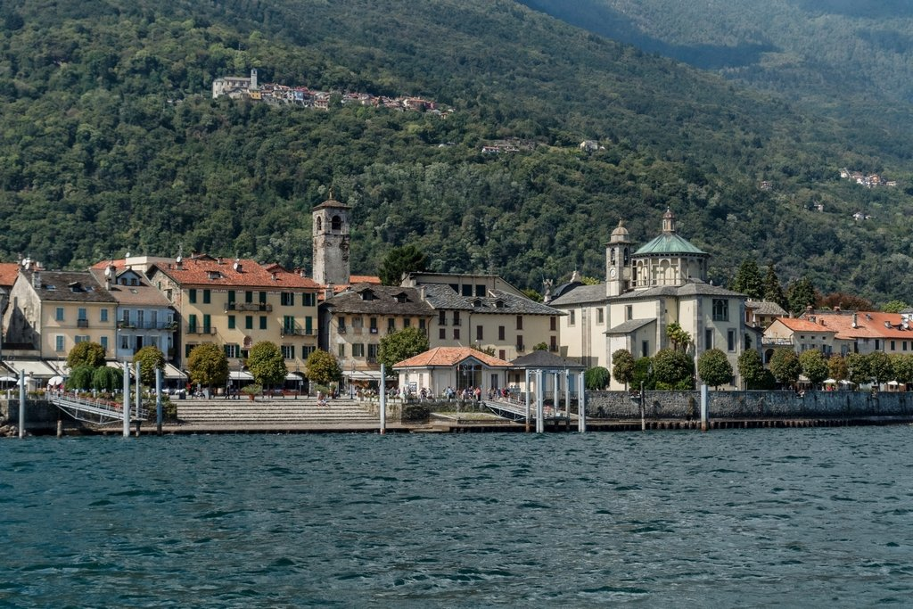 178 - Cannobio from the lake by bob65