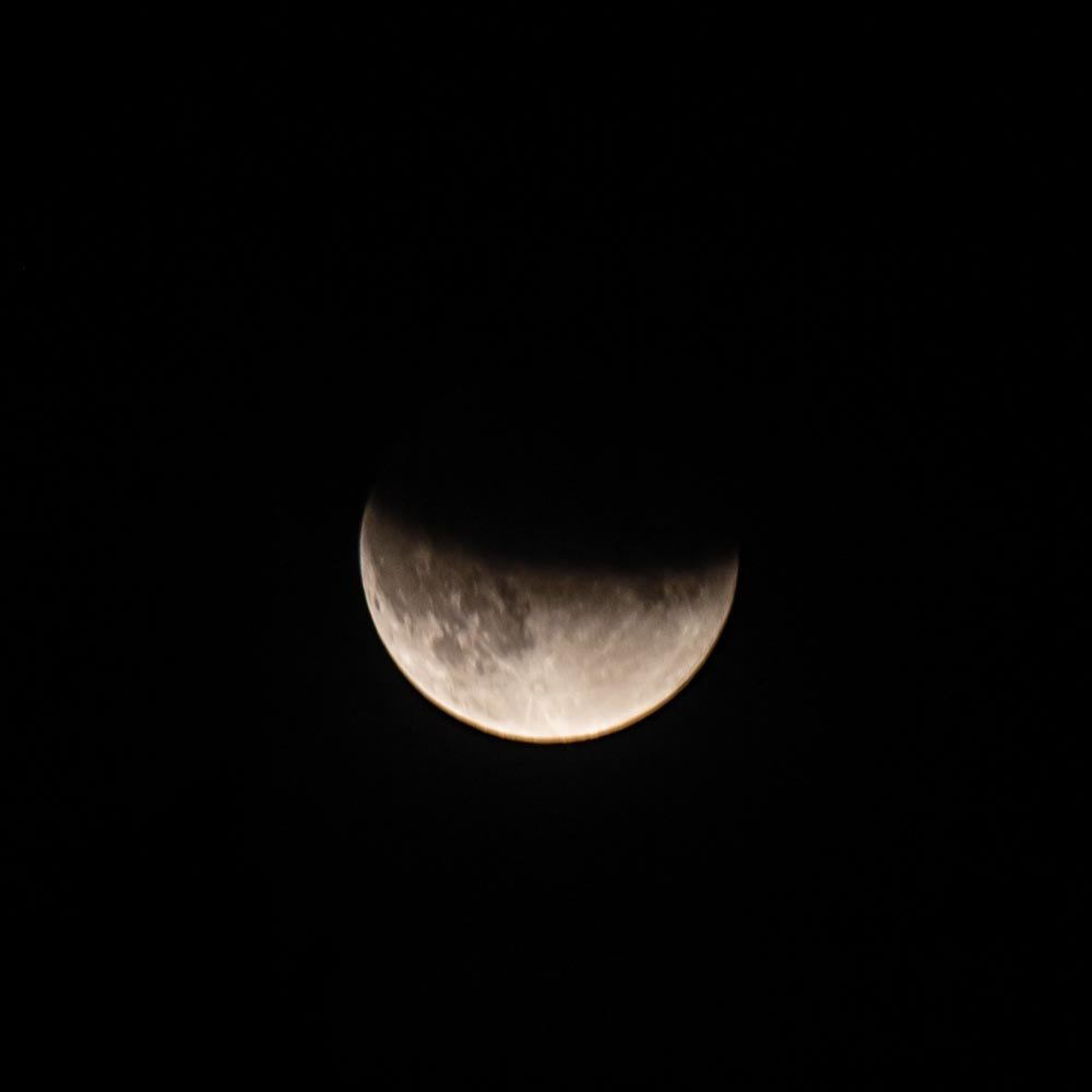 Partial Lunar Eclipse by pamknowler