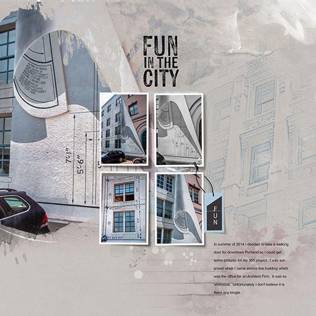 Fun in the city by joansmor