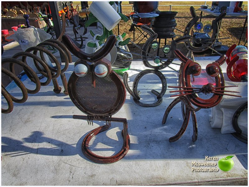 Art work at the Nanango Country market by kerenmcsweeney