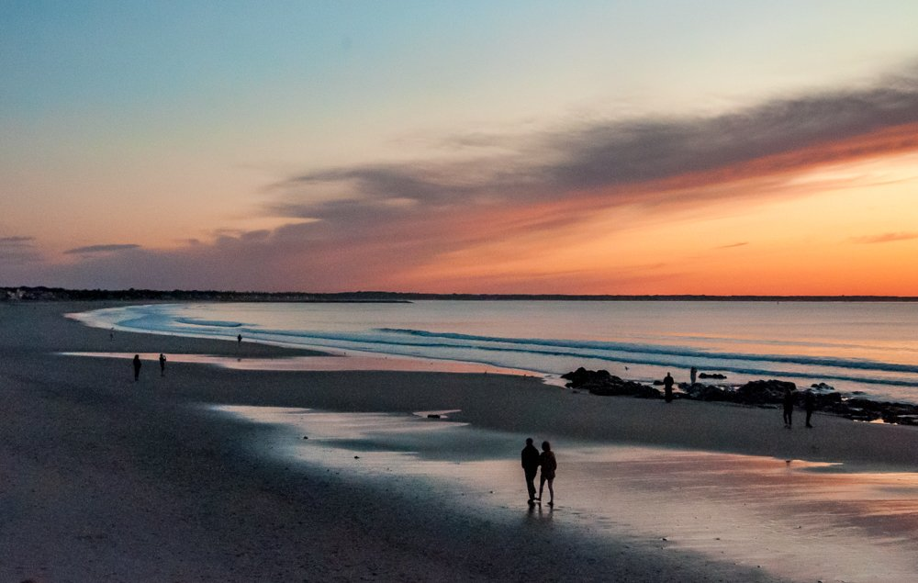 Sunrise Wells Beach by joansmor