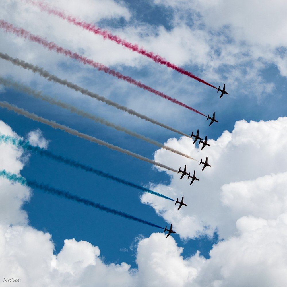 Red Arrows #2 by novab
