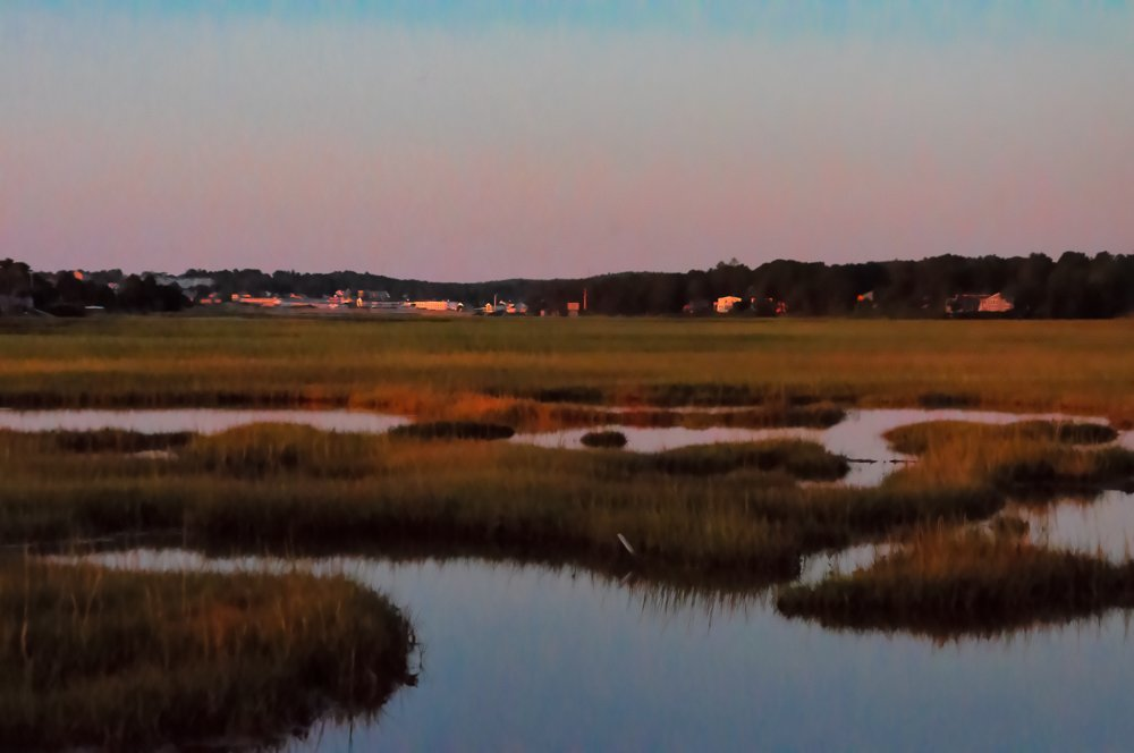 Golden hour on the backwater by joansmor