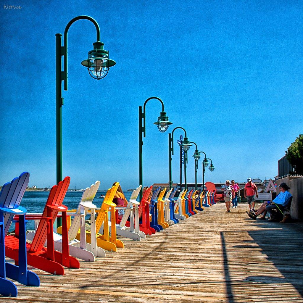 Halifax boardwalk by novab