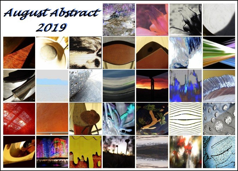 August Abstract 2019  by robz