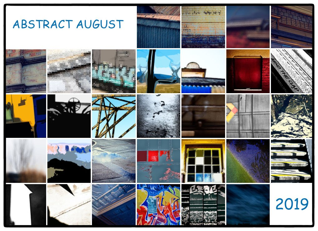 Abstract August - Collage by annied
