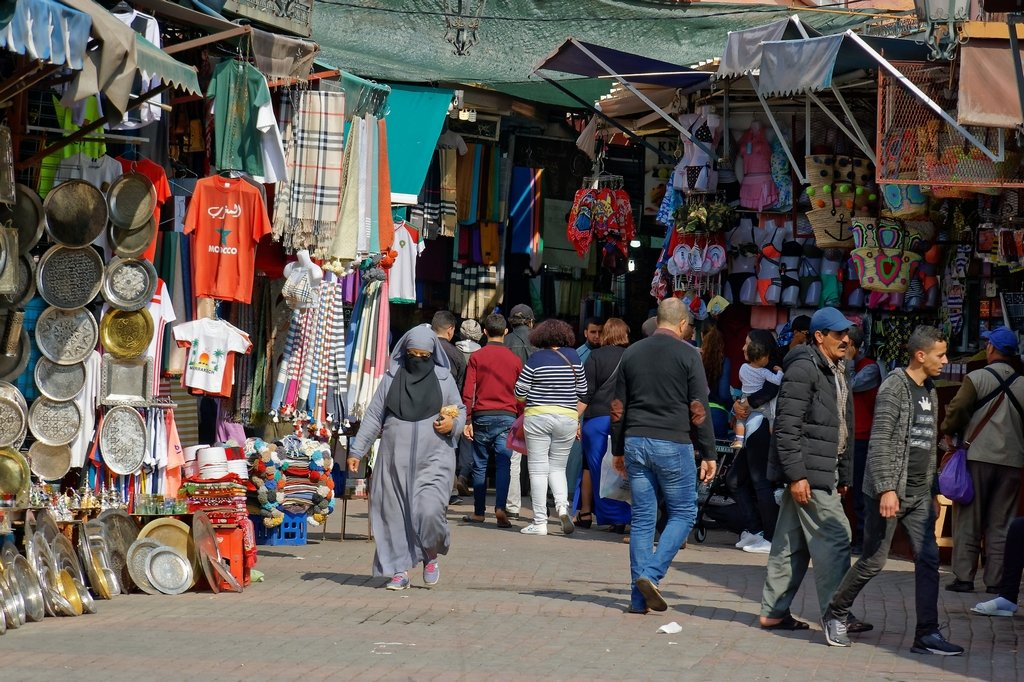 227 - Two world collide in the souk by bob65