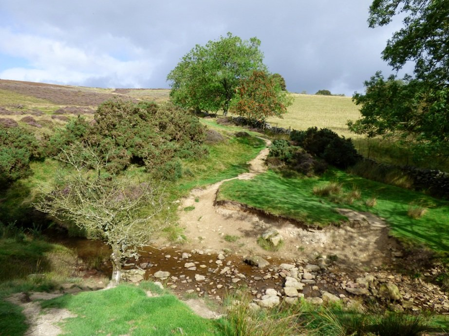 Ford over Hole Beck by fishers