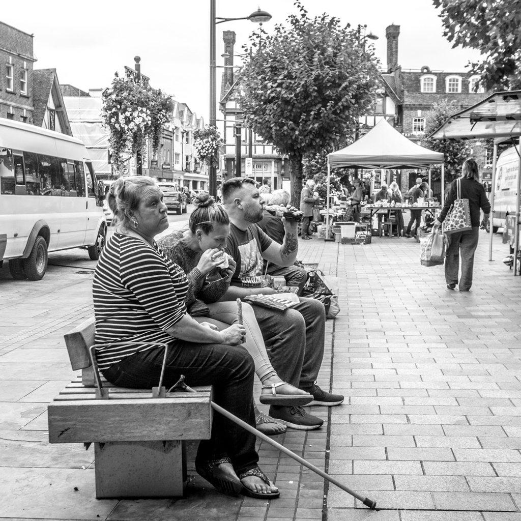 Lunch in the market by barrowlane