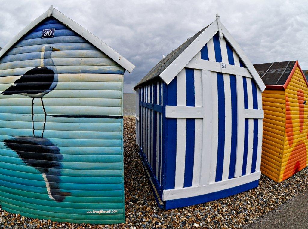356 - Beach Huts (2) by bob65