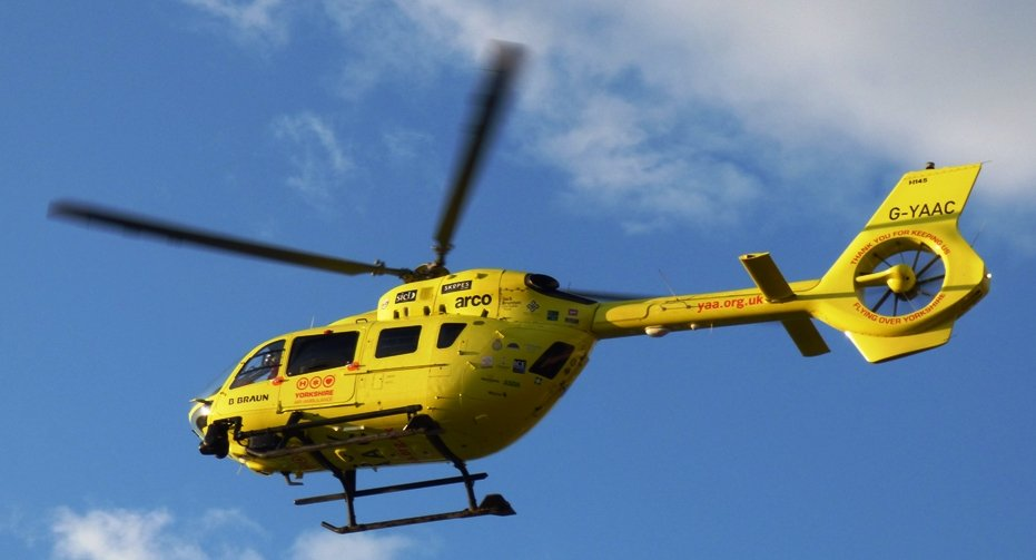 Yorkshire Air Ambulance by fishers