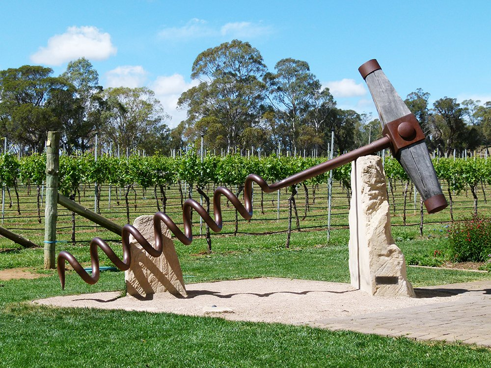 Corkscrew in the Vines by onewing
