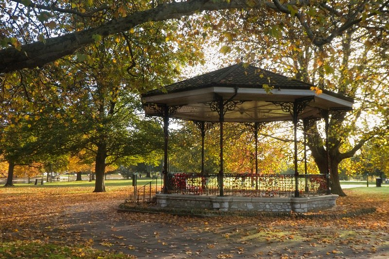 Remembering, at the Bandstand by helenhall
