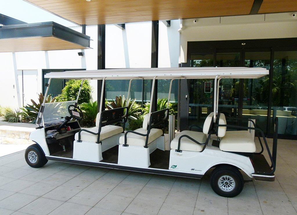 Stretch Golf Buggy by onewing