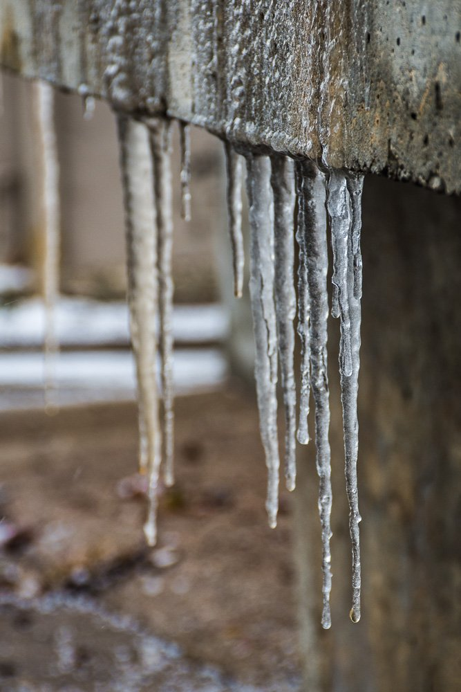 Ice on Concrete by mgmurray