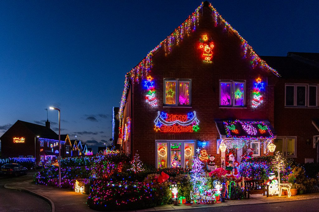 The most decorated house! by rjb71