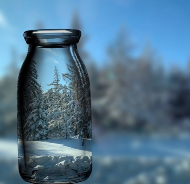 Bottle of Winter Fun by radiogirl