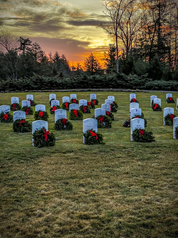 Sunrise at Springvale Veterans Cemetery by joansmor