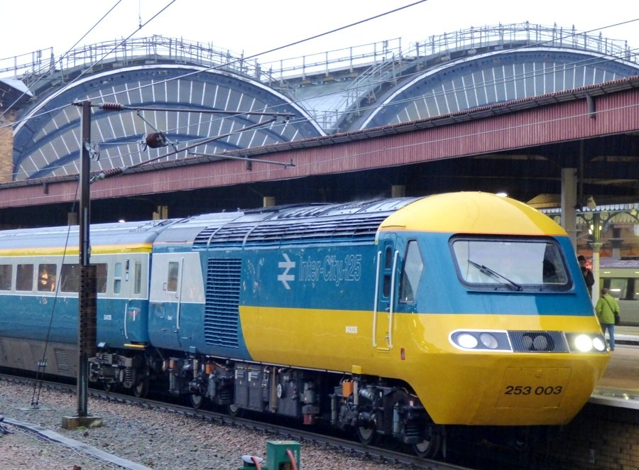 High Speed Train Farewell Tour by fishers