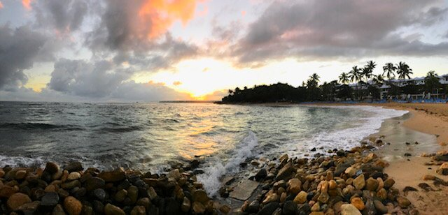 Dominican Republic. Sunrise - by pdulis