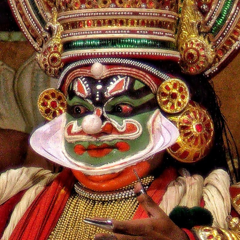 The Kathakali Show by leananiemand
