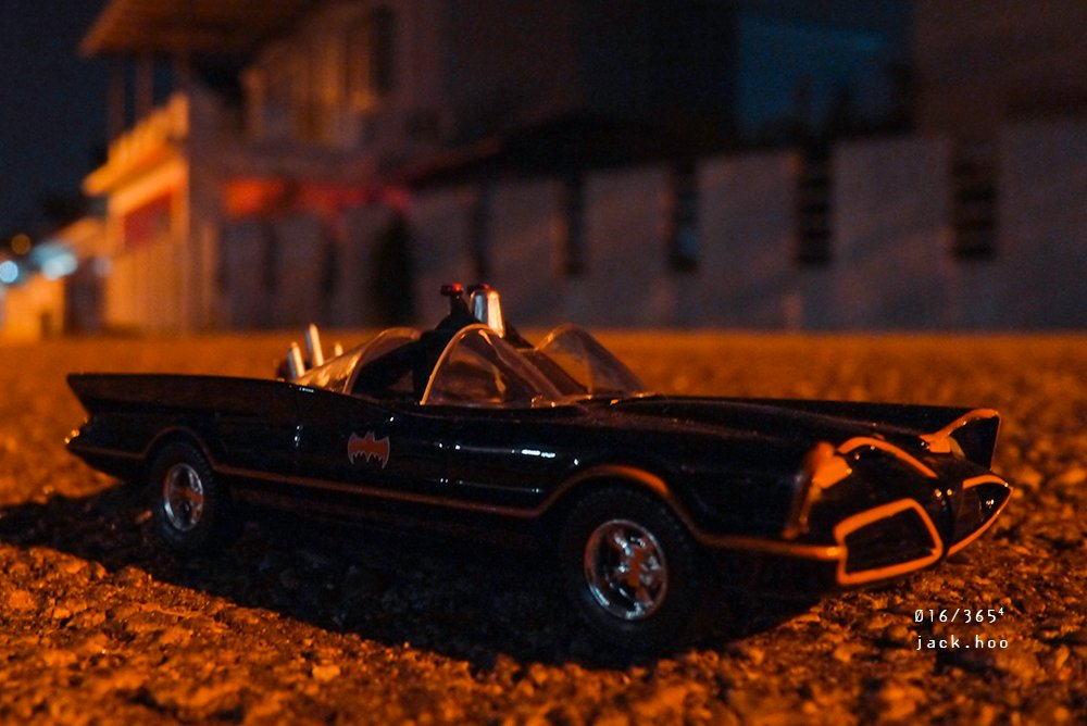 016/365⁴ : No policeman's going to give the Batmobile a ticket by jackhoo