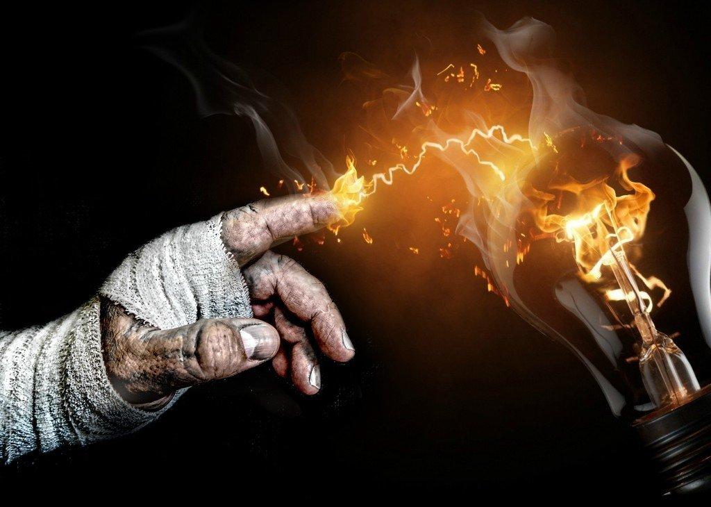 a spark in the dark by graemestevens