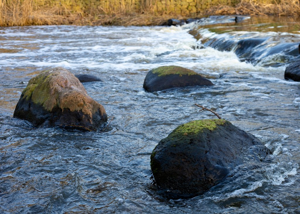 Rocks in the river by leonbuys83