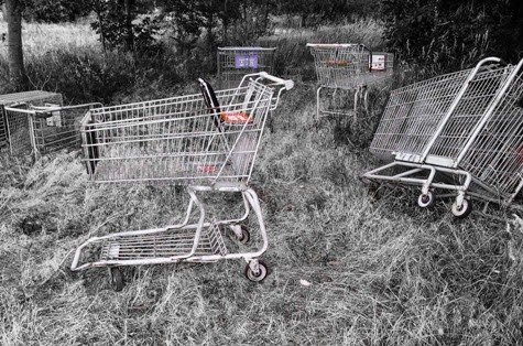 Shopping Carts by lsquared