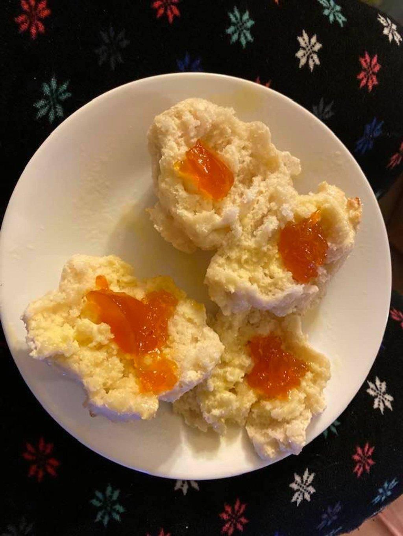 Yogurt drop biscuits by joansmor