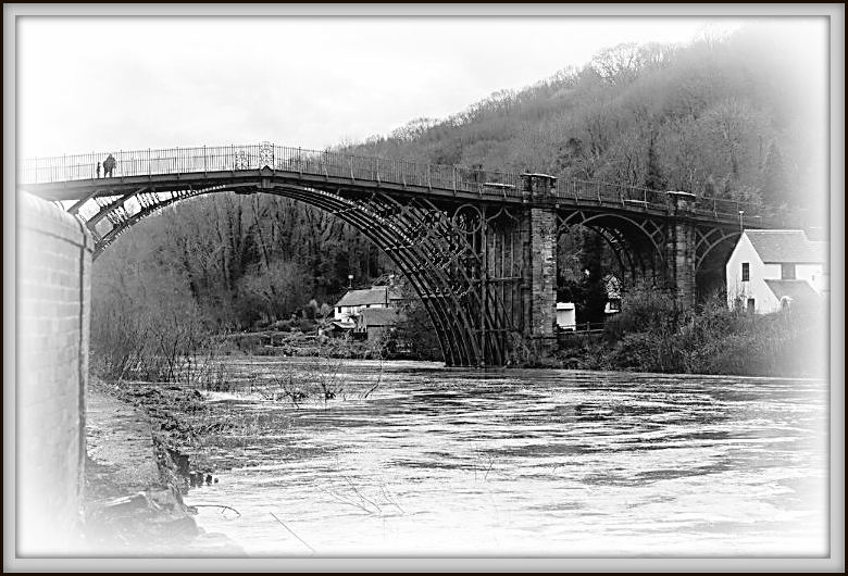 The Ironbridge - revisited  by beryl
