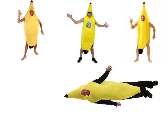 'Banana costumes?' I asked.  'Why?' by anniesue