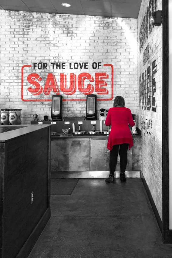 For the Love of Sauce by lsquared