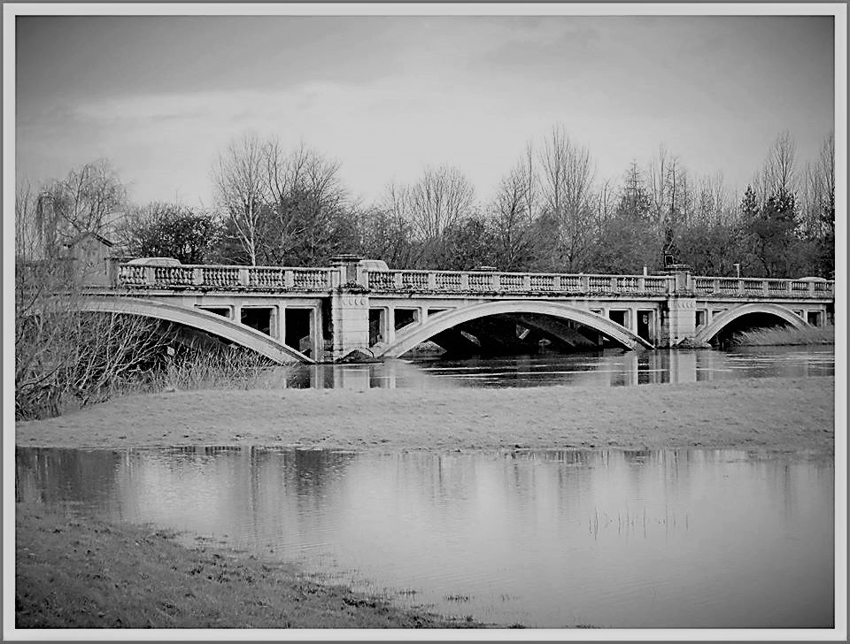 Atcham Bridge , Shropshire  by beryl