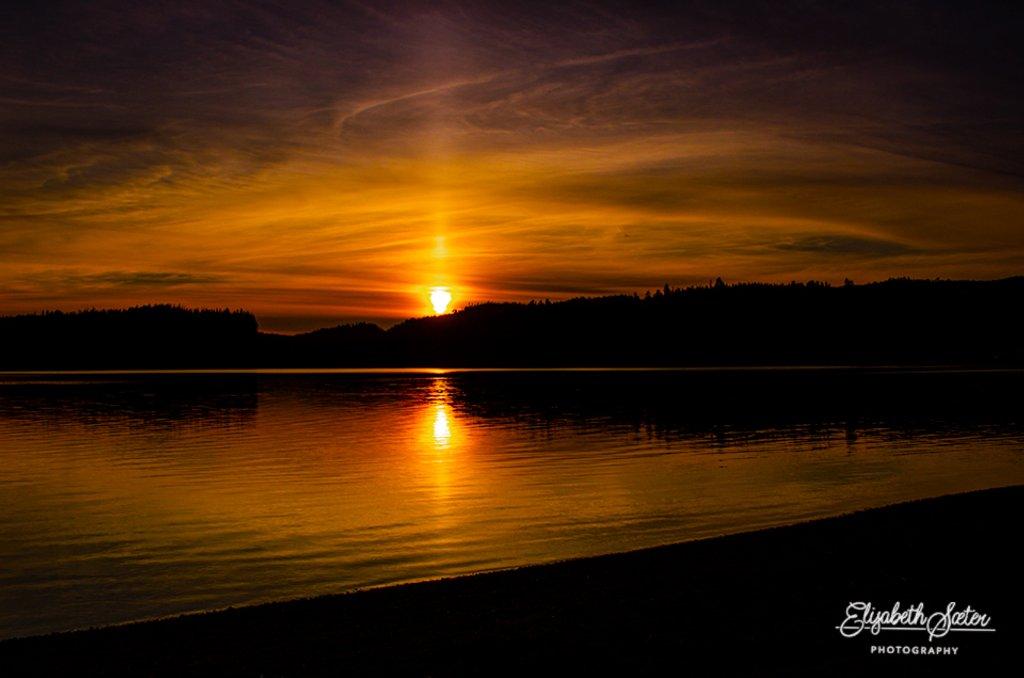 Dreaming of sunsets on Svorksjøen by elisasaeter