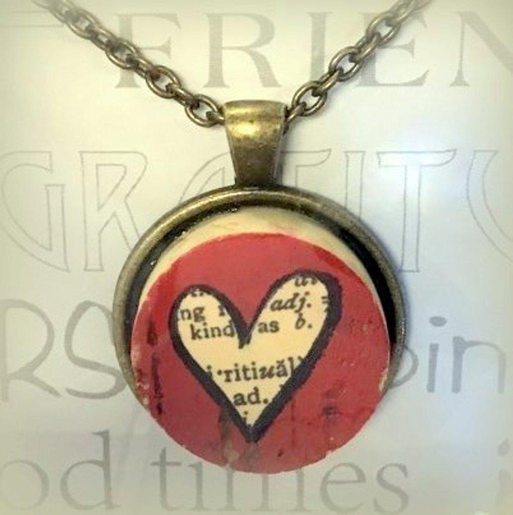 Cork Heart by genealogygenie