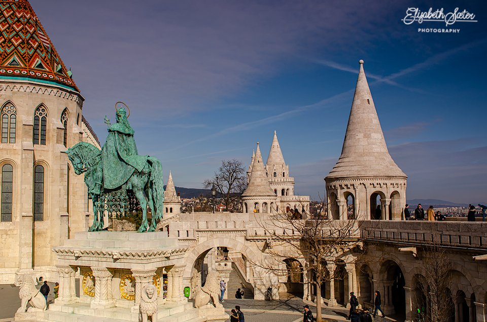Fisherman's Bastion  by elisasaeter