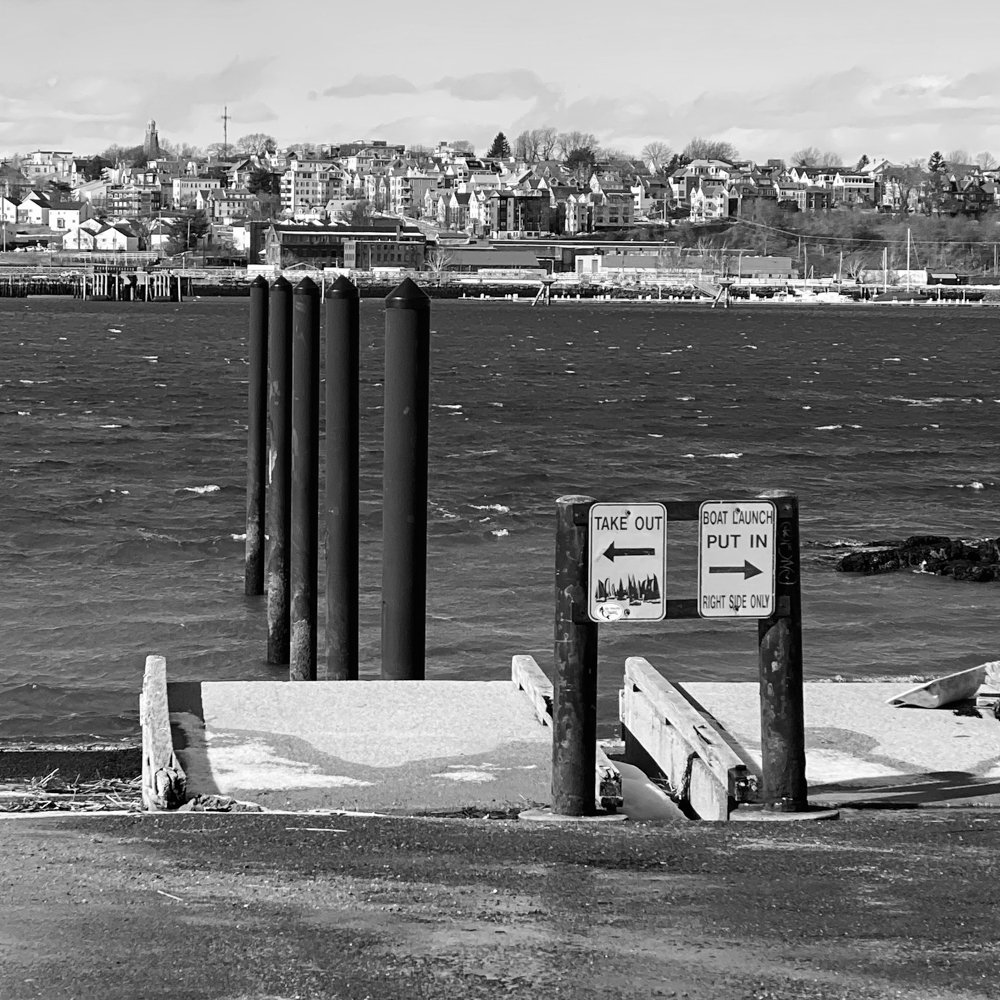 Boat Ramp with a View by joansmor
