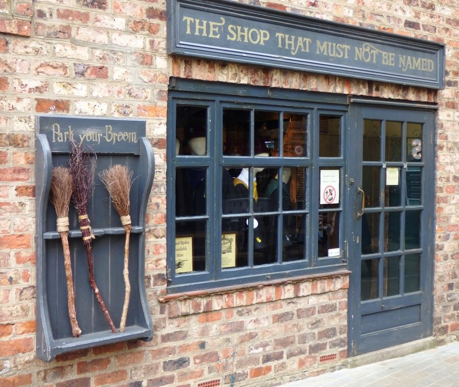 The Shop That Must Not Be Named by fishers