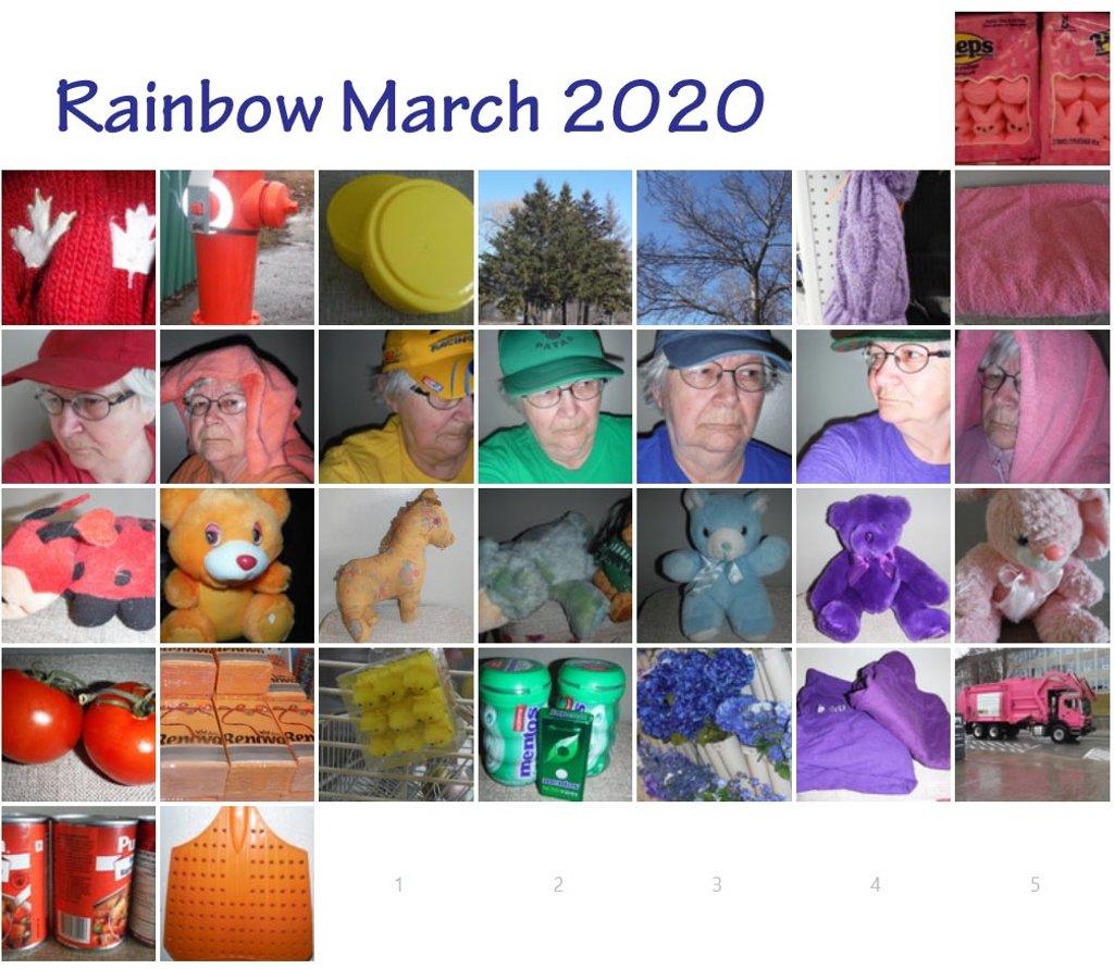 Rainbow March 2020 by spanishliz