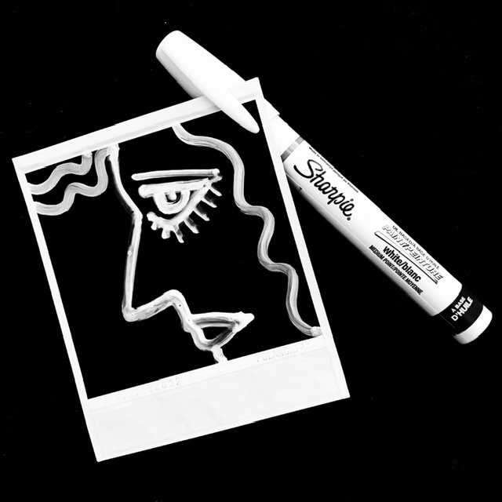 Polaroid and a Sharpie by joemuli
