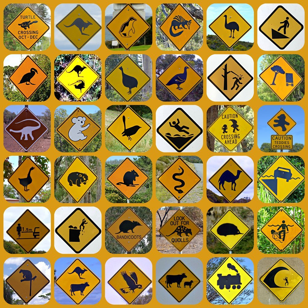 Australian Road Signs - Lockdown by judithdeacon