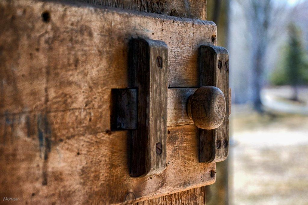 Old door by novab