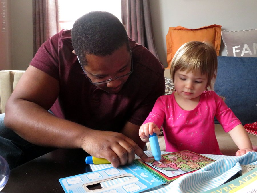 Coloring with Uncle Neal by rhoing