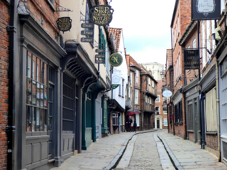 The Shambles, York by fishers