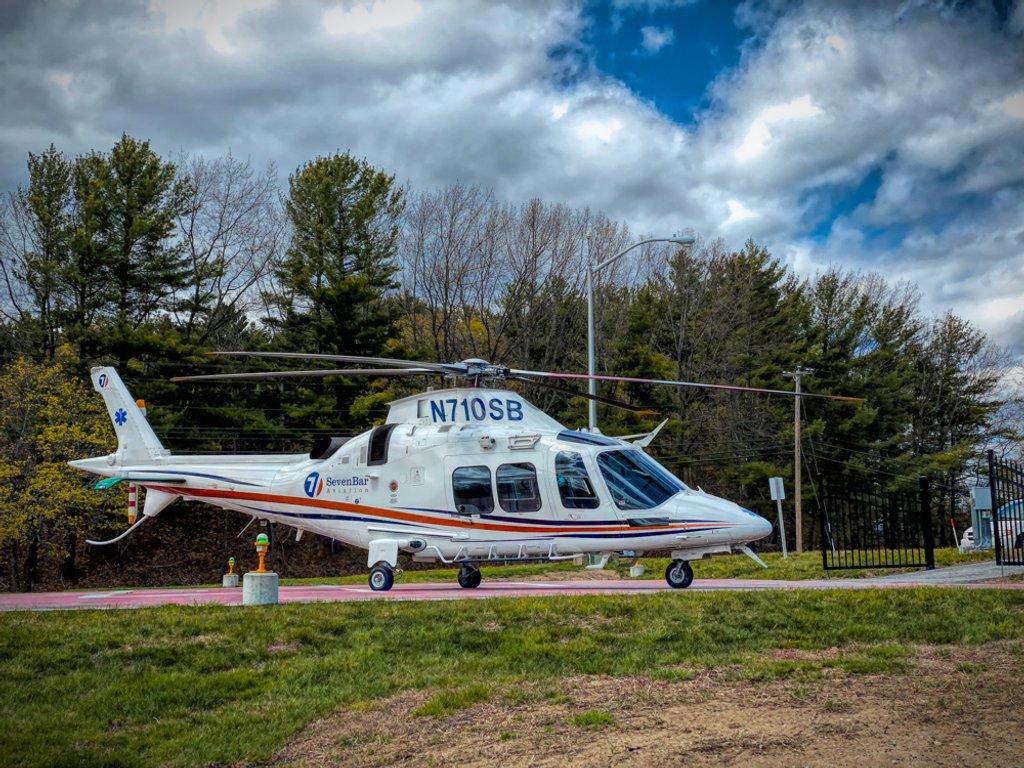 Medical Helicopter by joansmor