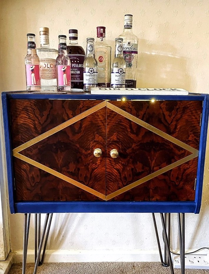 Finished Drinks Cabinet  by angiedanielle24