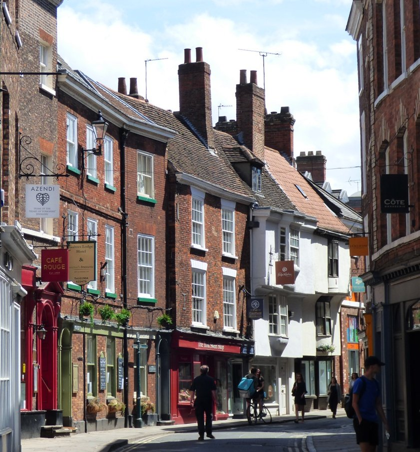 Low Petergate, York by fishers