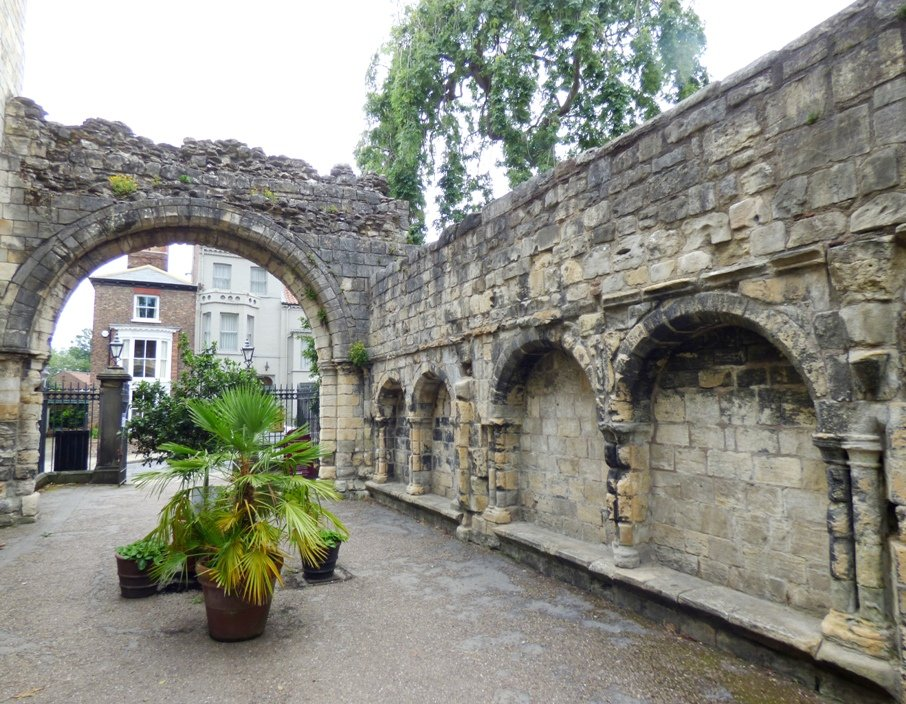 St Mary's Abbey Gatehouse, York by fishers